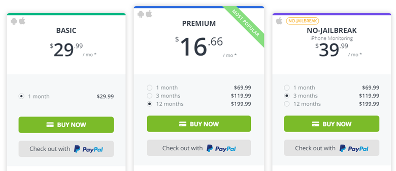 mspy price