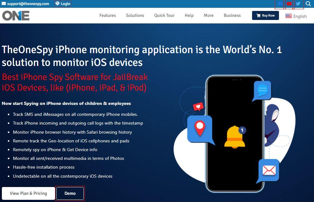 theonespy iPhone spyware